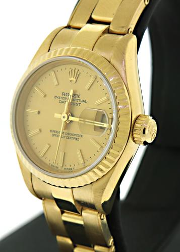 18kt Rolex Ladies Watch