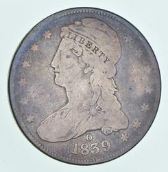 1839-O Capped Bust Half Dollar - GR-4
