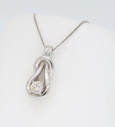 Approximately .25CT Solitaire Diamond Necklace