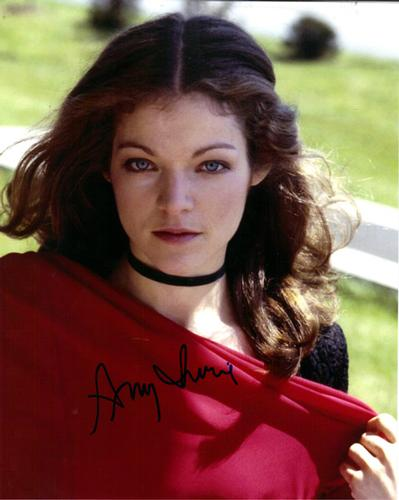 Amy Irving Autographed Signed Blue Eyes Photo