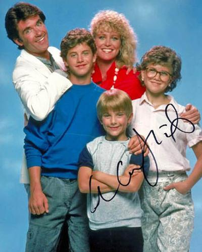 Alan Thicke Autographed Signed Growing Pains Photo