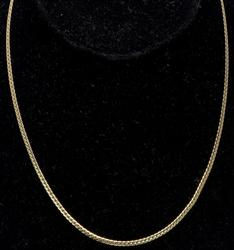 Flat-Link Chain in 14KT Gold