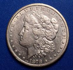 1878-CC Morgan Silver Dollar, Circ