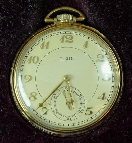 Elgin Pocket Watch, Working