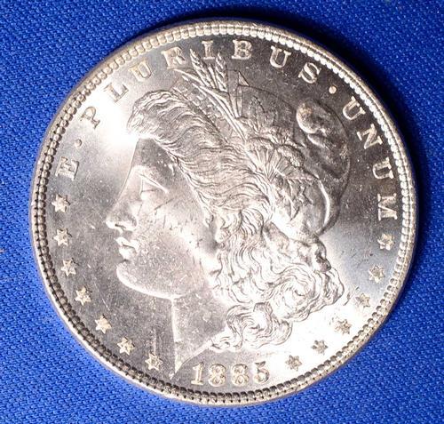 1886 BU Morgan Silver Dollar