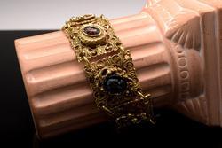 Vintage Block Motif Bracelet
