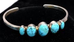 Vintage Sterling Silver Cuff Bracelet
