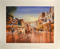 Jack Terry , Cowtown Hand Signed