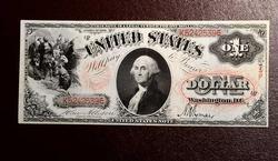 $1 FR#26 1875 LEGAL TENDER NOTE Circ