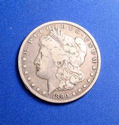 1890-CC MORGAN DOLLAR CIRC