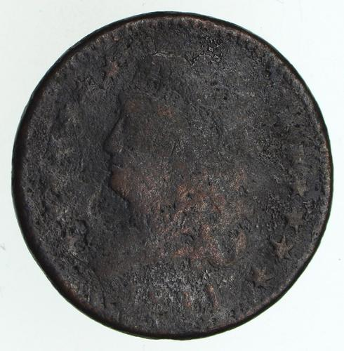 1811 Classic Head Half Cent - Circulated