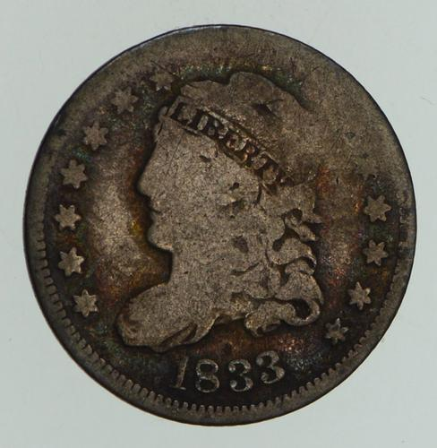 1833 Capped Bust Half-Dime - Circulated