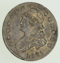 1821 Capped Bust Quarter - Circulated