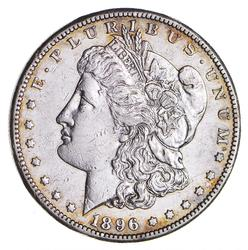 1896-S Morgan Silver Dollar - Sharp