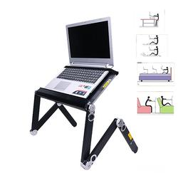 Portable 360 Folding Bed Laptop Desk Stand Holder