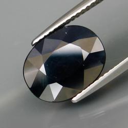Simply stunning 4.96ct Midnight blue Sapphire