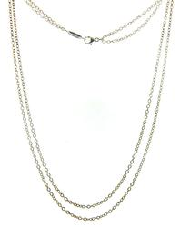 Tiffany & Co Adjustable Double Row Chain