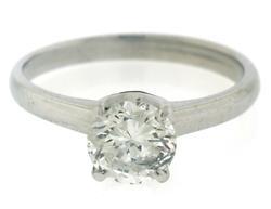 Fabulous RBC Solatire Diamond Ring in 14kt