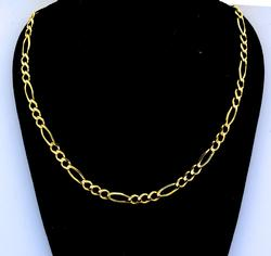 Nice Weight 14KT Figaro Chain