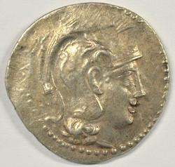 Great Athena Greek Silver Tetradrachm, 146-145 BC