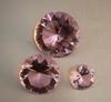 Trio Diamonds Crystal Pink