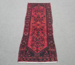 Semi Antique Persian Hamedan 10.0x3.6