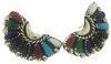 Lot of 3 Vintage Sterling Silver Gemstone Earrings