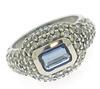 Shocking Tanzanite with Diamond Pave Ring