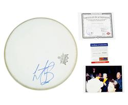 Charlie Watts Rolling Stones Signed Drumhead Psa/Dna