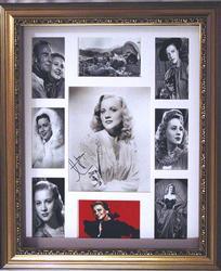 Anne Jeffreys Autographed Signed Vintage Photo Display