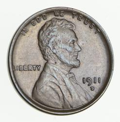 1911-D Lincoln Wheat Cent