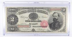 1891 $2 Treasury Large Size Note