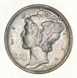 1945-S Mercury Dime - Micro S