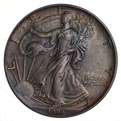 1994 American Silver Eagle - Toned