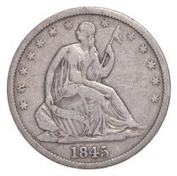 1845-O Seated Liberty Half Dollar