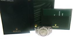 Rolex Air King 34mm Arabic & Pink Sticks Dial Watch