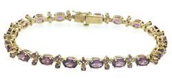 Amazing Rholdalite Garnet Line Bracelet