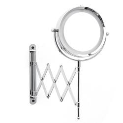 6in 3X Magnifying Cosmetic Mirror Foldable LED Light