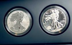 2013 West Point 2 coin Silver Eagle Set, OGP