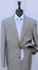 Stylish 2-Button Peal Lapel Suit, By Galante