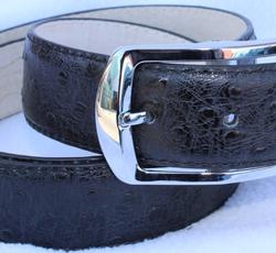 Classy Fine Leather Belt, Made In Italy