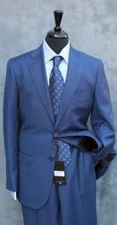 Best Selling Slim Fit Sharkskin Suit By Galante