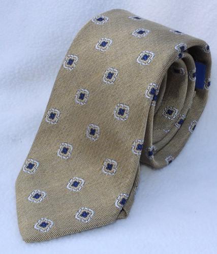 Fine Quality Italian Hand Made Silk Tie By Galante