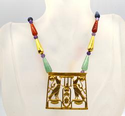 Egyptian Style Pendant and Chain