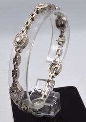18KT White Gold Bracelet