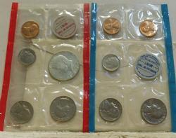 1970 Silver Mint (Unc) Set, Silver (40%) Half, rare
