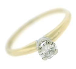 Stunning .38ct Solitare Diamond Ring