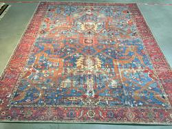 Eye Catching & Stunning  Colorful Vintage Rug 8x10