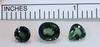 Natural Green Tourmaline - Lot of 3
