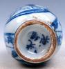 Porcelain Blue & White Exotic Figurines Snuff Bottle